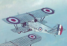 "Model Airplane Plans (Ff): Whitworth Siskin 1/12 Scale 33""ws for .049ci engine"