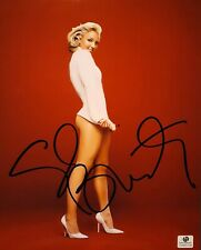 Britney Spears signed 8x10  COA GAI sticker only