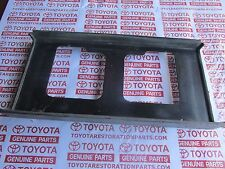 TOYOTA CELICA SUPRA  BODY LOWER BACK FINISH CENTER PANEL TAG FRAME HOLDER 1984
