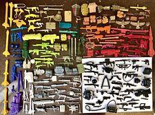 "🔥 HUGE Gi Joe Cobra Lot 200 Weapons & Accessories for 3.75"" Action Figures 🔥"