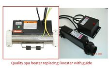hot tub spa heater 3KW Straight I type repalcing Rooster heater RSL-L/T-3 3000W