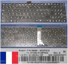 Clavier Azerty Fr ASUS X502 X502C 9Z.N9DSU.10F 0KN0-N32FR13 0KNB0-6128FR00 Noir