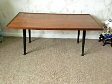 Vintage Retro Coffee Table With Dansette Legs