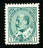 Canada Stamps # 89 XF OG H Scott Value $40.00
