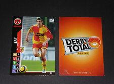 BAK POLSKA RC LENS RCL BOLLAERT SANG & OR PANINI FOOTBALL CARD 2004-2005