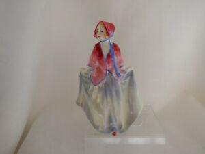 "ROYAL DOULTON MINIATURE  FIGURE SWEET ANNE M27 BY LESLIE HARRADINE - 4"" 1932-45"