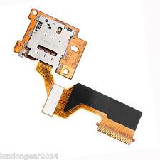 Genuine Original HTC One M9 SIM CARD READER vassoio holder Flex Cable Ribbon parte