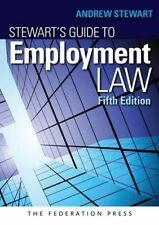 Stewart's Guide to Employment Law by Andrew Stewart (Paperback, 2015)