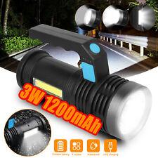 Super Bright Rechargeable LED Handheld Flashlight Portable Spotlight Searchlight