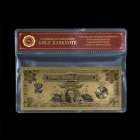 1899 USA 2 $ Ein Dollar Silber Zertifikat Sammlerstück Goldbanknote