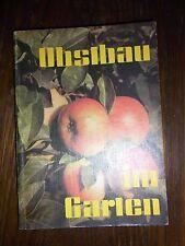 altes Buch Obstanbau im Garten von Karl Heinz Vanicek 23x16,5cm 1981