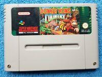 DONKEY KONG - SNES - Excellent Condition -  Retro Sale!!! - Super Nintendo - PAL