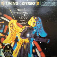 RCA LIVING STEREO LSC-2131 *SHADED DOG* FRANCK SYMPHONY IN D *MUNCH* EX+/NM