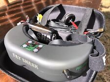 Fat Shark Teleporter V4 First Person View Headset & VA1100 Ultra Micro Cam Sys