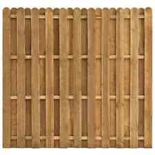 vidaXL Madera de Pino Panel de Valla de Jardín 180x170cm Cercado Bordo Estacas