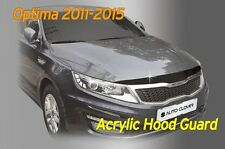 Acrylic Bonnet Hood Guard Protector Deflector Shield for KIA Optima 2011 ~ 2015