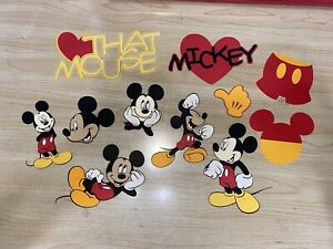 Micke Mouse Cricut Die Cut Lot