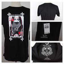 Triple Fat Goose Billy Badass Original Brand King of Hearts Black T Shirt Large
