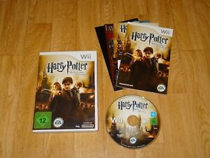 Wii Spiel Harry Potter und die Heiligtümer des Todes Teil 2