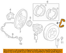 TOYOTA OEM 04-05 RAV4 Brake-Rear-Brake Hose Left 9094702D03