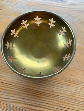 Brass Gold Coloured Dish Decorative Bowl Pot Pouri?