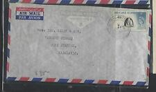 FALKLAND ISLANDS (P1111B)  QEII 2D PENGUIN LOCAL COVER #2