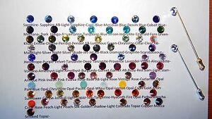 64mm S/P Cravat/Scrunchie/Stick/Hat/Lapel Pin & 7mm Crystal-Wedding-Accessories