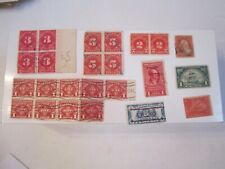 COLLECTIBLE LOT OF U.S. STAMPS - BACK OF THE BOOK & MORE - SEE PHOTOS - BBA-11