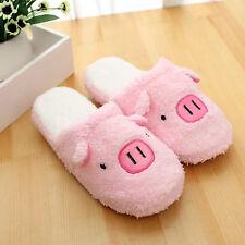 Hausschuhe Pantoffel Plüsch Schwein Schweinchen Tier Damen Schlappen Puschen neu