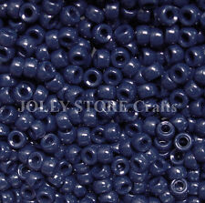 Navy Blue 7mm Mini Pony Beads made in USA 1000pc crafts school VBS kandi jewelry