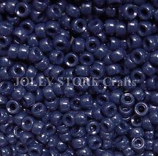 Navy 7x4mm mini Pony Beads 1000pc USA for crafts school kandi jewelry