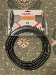 MOGAMI Gold Edition 2534 Quad MGKLXLRM0500BL 5m TRS Jack - XLR Cable Neutrik