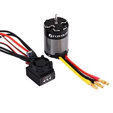 Flycolor 45A Brushless ESC + 3650 3000KV Sensorless Waterproof Motor Combo Set