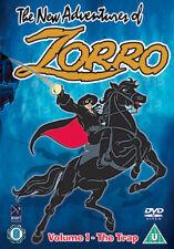 DVD:ZORRO VOLUME 1 - THE TRAP - NEW Region 2 UK