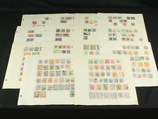 Great Old Time Mid East Stamp Collection Lot Pages Scarce Syria, Palestine ++