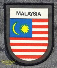 LMH PATCH Screened Badge  MALAYSIA  Malaysian FLAG  Jalur Gemilang Stripes Glory