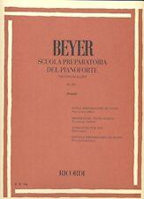 Volonte cuola preparatoria per Pianoforte Op.101 Ferdinand Beyer Ed.ricordi