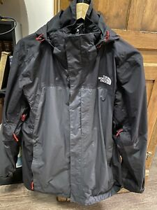 North Face Hyvent Jacket Combo Large L Black/Gray