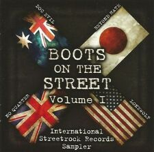 V/A - BOOTS ON THE STREETS CD * Doc Evil * Beyond Hate * No Quarter * Lonewolf