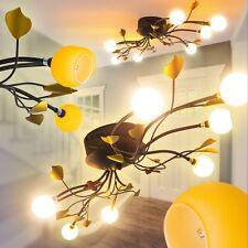 Deckenleuchte Blätter Küche Flur Leuchten Schlaf Wohn Zimmer Lampe Rost Landhaus