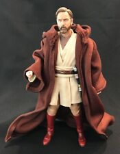 "PP-R-BN: Wired Brown Jedi Fabric Robe for 6"" Star Wars Obi-wan (No figure)"