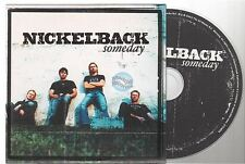 NICKELBACK someday CD SINGLE card sleeve