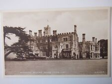 Hinchingbrooke House from S W Old Postcard Sepiatype Valentines