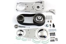 "ELECTRIC START 3"" 8MM OPEN PRIMARY BELT DRIVE KIT @ 1970-78 4-Speed BIG TWIN"