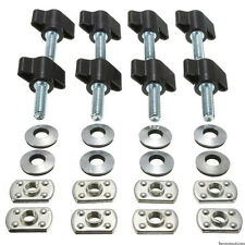 For Jeep Wrangler TJ Hard Top 1995-2006 Models Thumb Screws Nuts Washers 8pc Set
