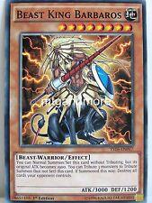 Yu-Gi-Oh - 2x Beast King Barbaros - YS16 - Starter Deck Yuya