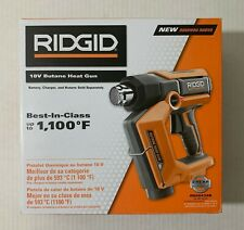 RIDGID Cordless Heat Gun 18-Volt Butane HexGrip Adjustable temperature Handle