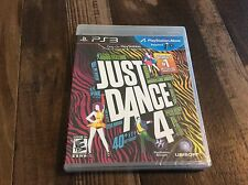 Just Dance 4 (Sony PlayStation 3, 2012) New Free US Shipping