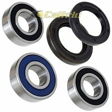 Rear Wheel Ball Bearing Seal Kit Fits SUZUKI DR-Z400 DR-Z400E DR-Z400S 2000-2016