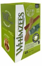 Whimzees Variety Natural Vegetable Dog Treats Chews Bulk x 48 Small mix
